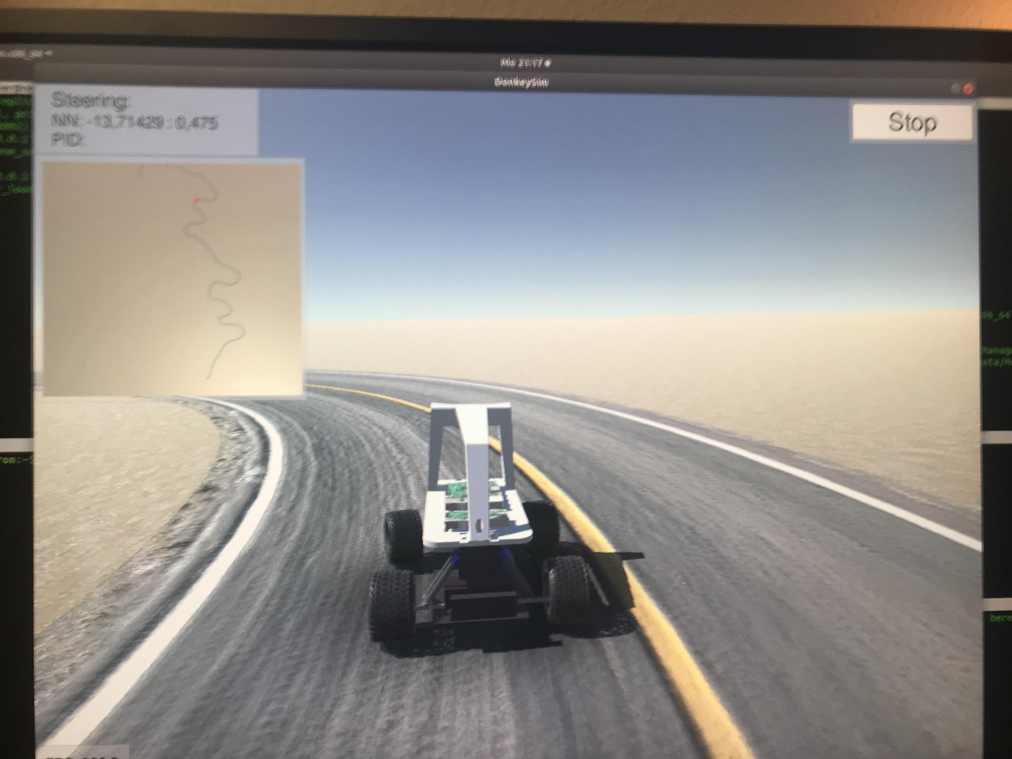 Chapter 7 Driving & Training following Tawn Kramer (By Rainer Bareiß